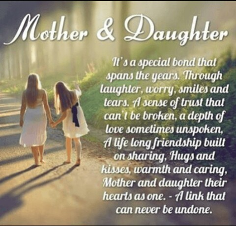 Mother and daugher blurb