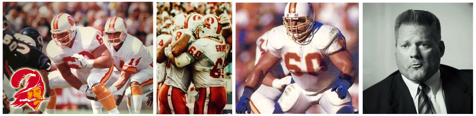 Randy Grimes collage of football images