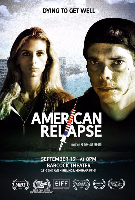 American Relapse movie cover