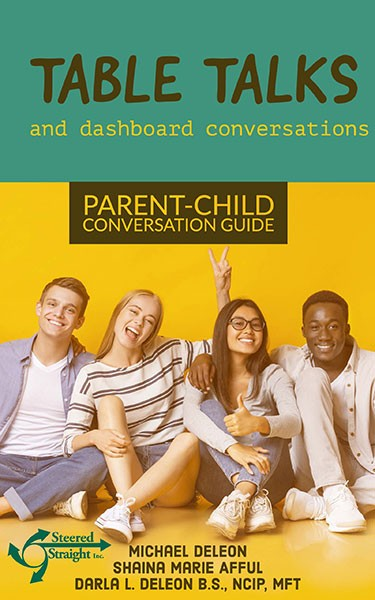 Table Talks Parent Child converation guide By Michael Deleon cover